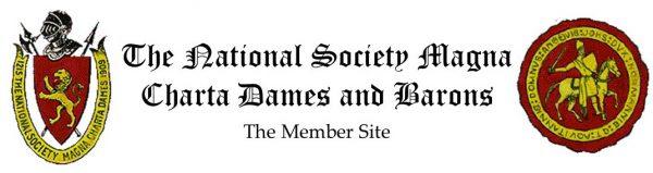 The National Society Magna Charta Dames and Barons